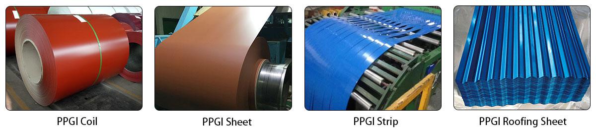 PPGIppgi/ppgl(prepainted galvanized steel /prepainted galvalume steel )